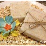 DIY Homemade Oatmeal Soap