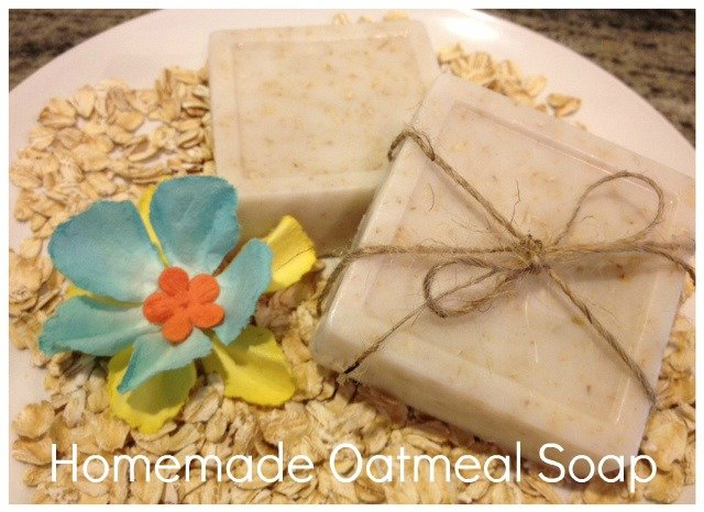 DIY Homemade Oatmeal Soap