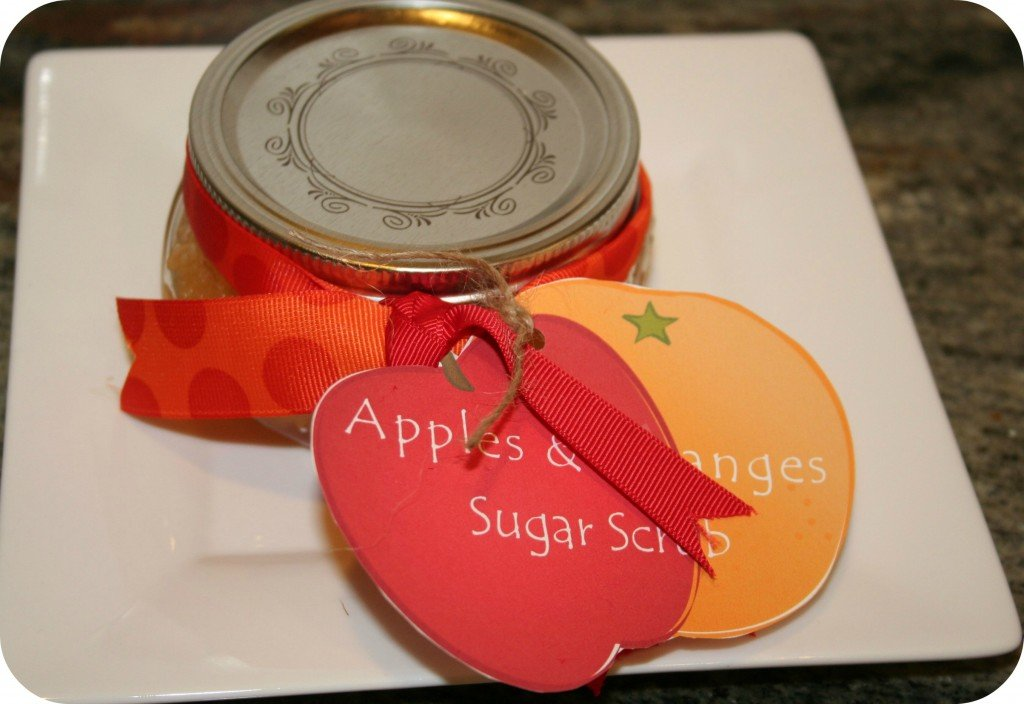 Apples and Oranges Sugar Scrub