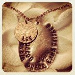 $50 Custom Penny Charm Necklace {giveaway}