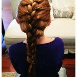 How to Make a French Braid – {tutorial}