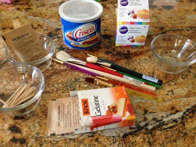 gelatin bubbles supplies