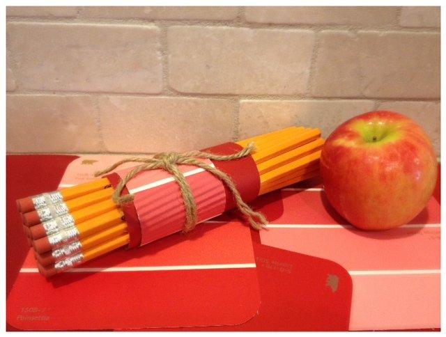 Paint Chip Teacher Craft