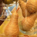 Twine Pears {DIY Craft}