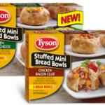 Tyson Stuffed Mini Bread Bowls #goodnesstogo