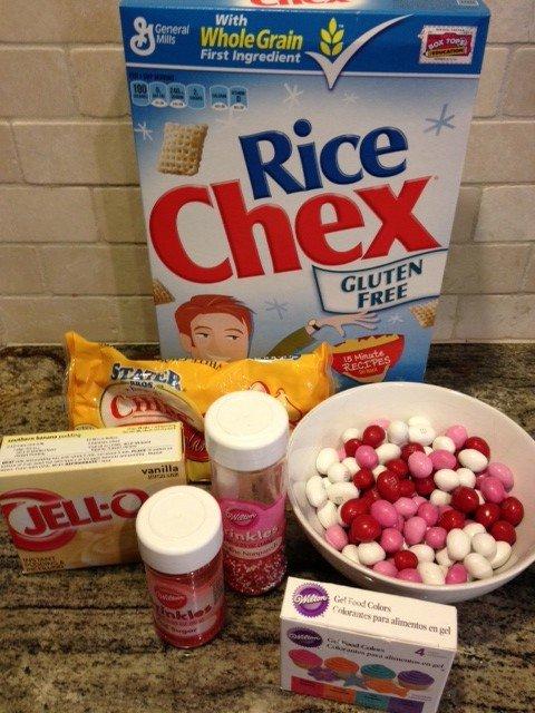 Vanilla Chex Mix ingredients