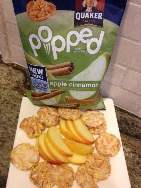 Popped snack
