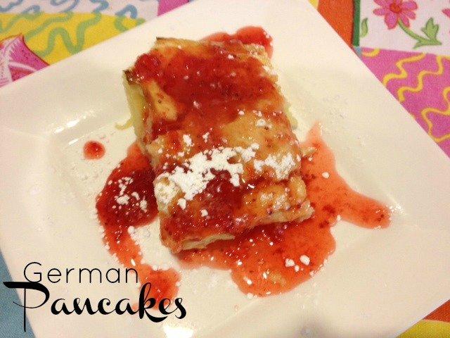 Easy German Pancakes Recipe