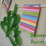 DIY Shamrock Banner {St Patricks Day Crafts}