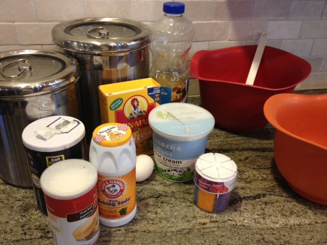 irish soda muffin ingredients