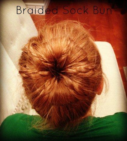 Braided Sock Bun