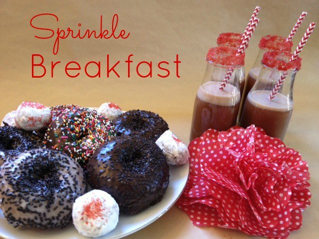 sprinkle breakfast