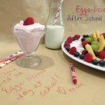 Eggo-licious After School Snack {recipe}