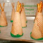 Thanksgiving Teepees {copy cat}  #LifeIsASpecialOccasion