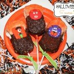 Halloween S'mores Pops {Eggo® recipe}