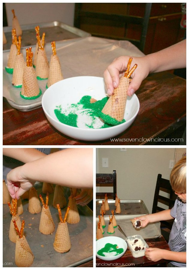 thanksgiving teepees