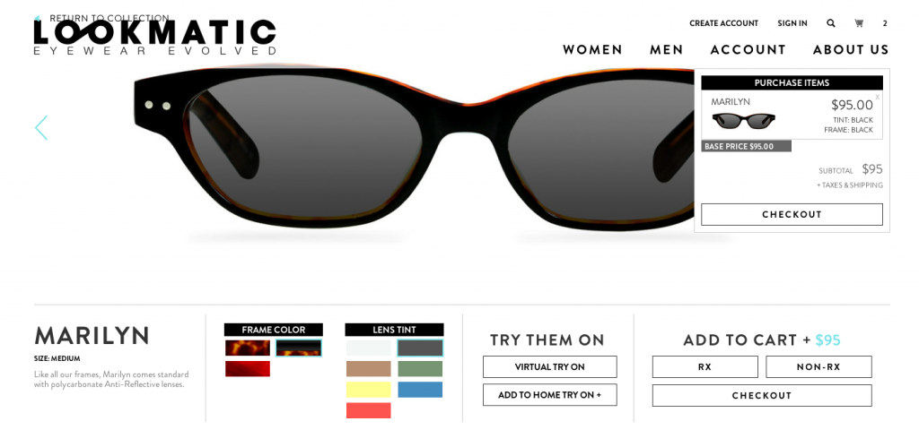 lookmatic glasses