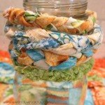 Scrap Fabric Bracelets {how to}