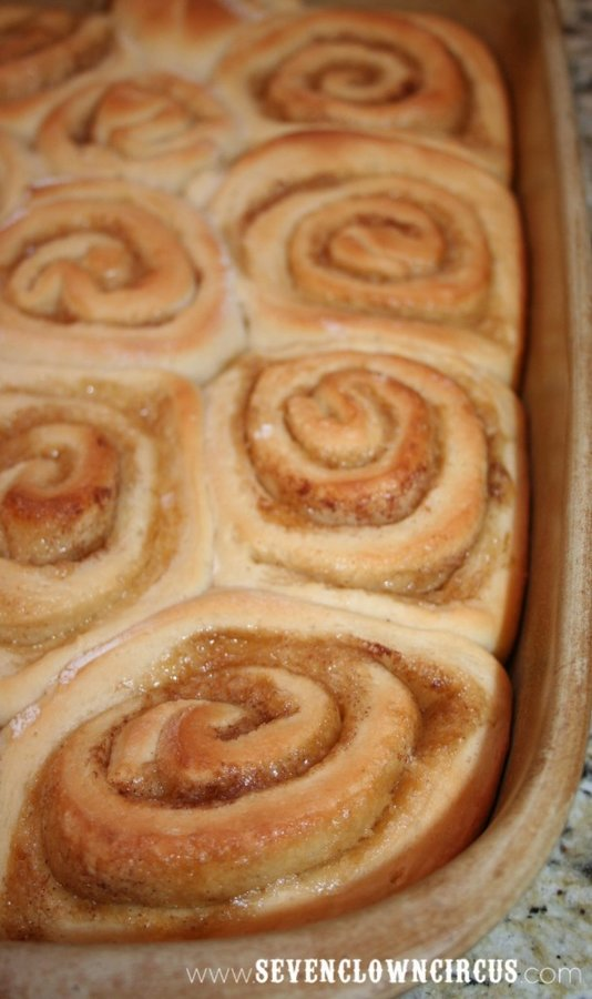 Bake Cinnamon Roll