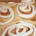 Easy Cinnamon Roll Recipe using PAM® + {giveaway}