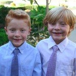 The Twins Turn 8! {Wordful Wednesday}