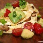 Avocado Egg White Omelet Recipe