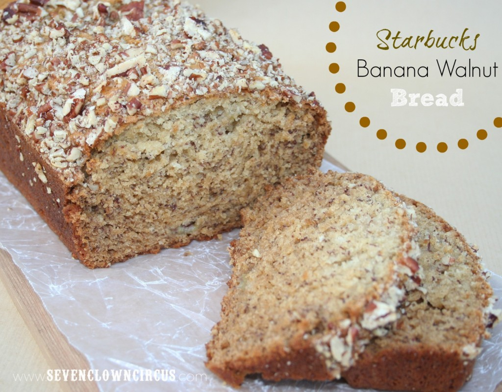 Starbucks Banana Walnut Bread
