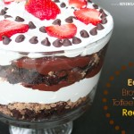 Easy Brownie Toffee Trifle Recipe
