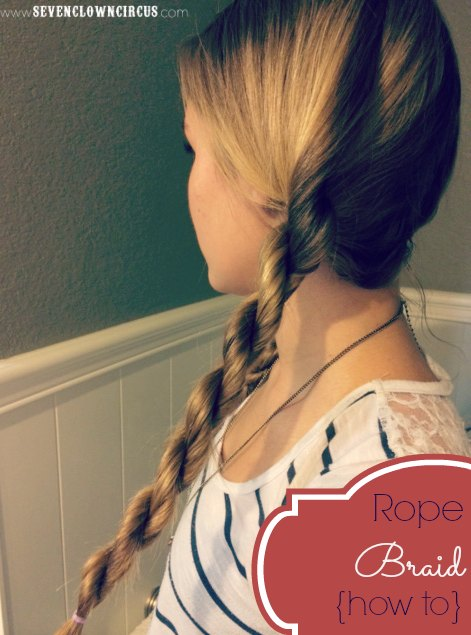 rope braid how to