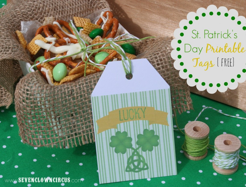 St. Patrick's Day Tags