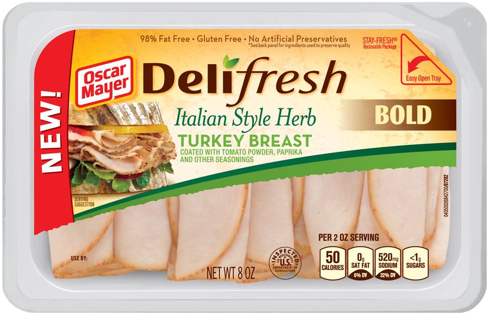 bold italian style herb turkey