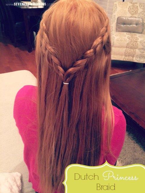 dutch princess braid