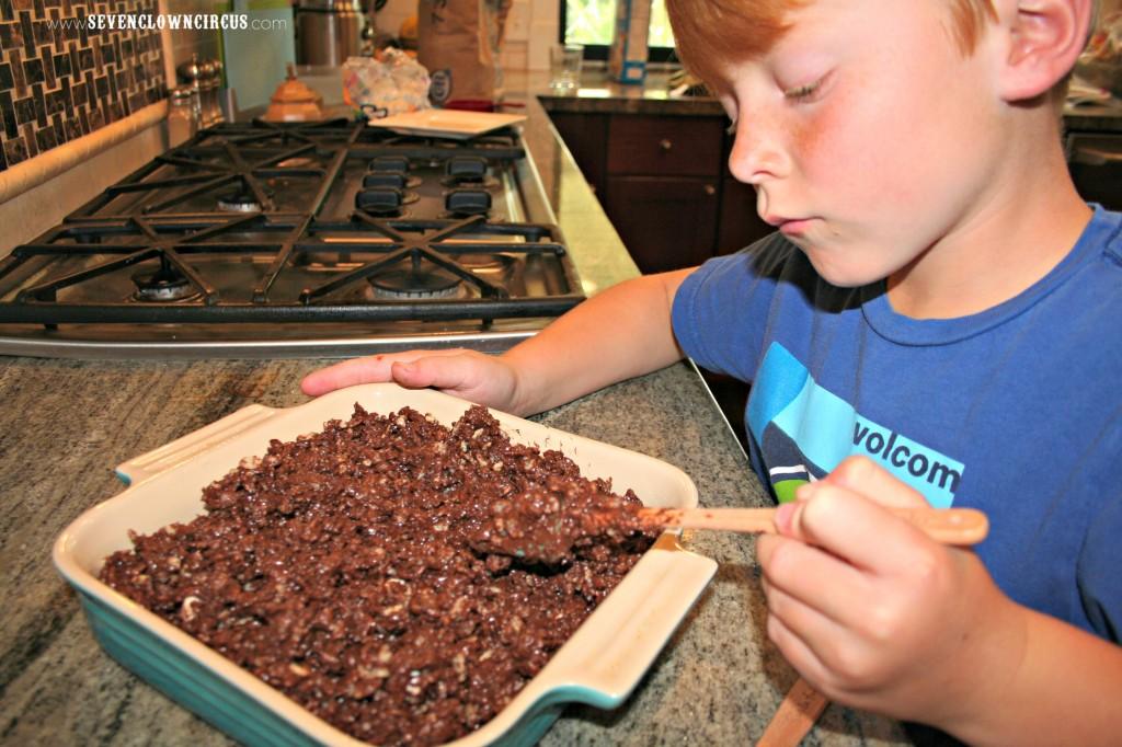 chocolatey rice kris pies
