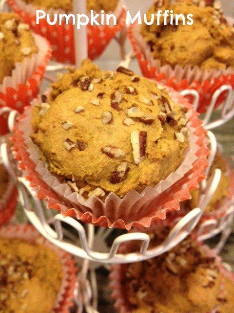 2 ingredient pumpkin muffin recipe