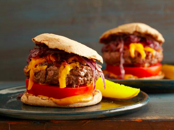 Juicy Grilled Burgers