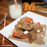 Monster Cookies Oatmeal Peanut Butter
