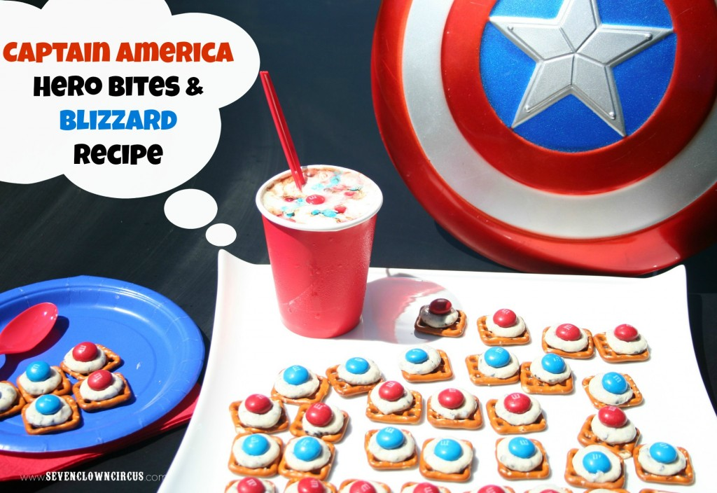captain america, m&m's, #cbias, #party
