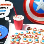 Captain America and M&M's® Hero Bites & Blizzards {recipe}