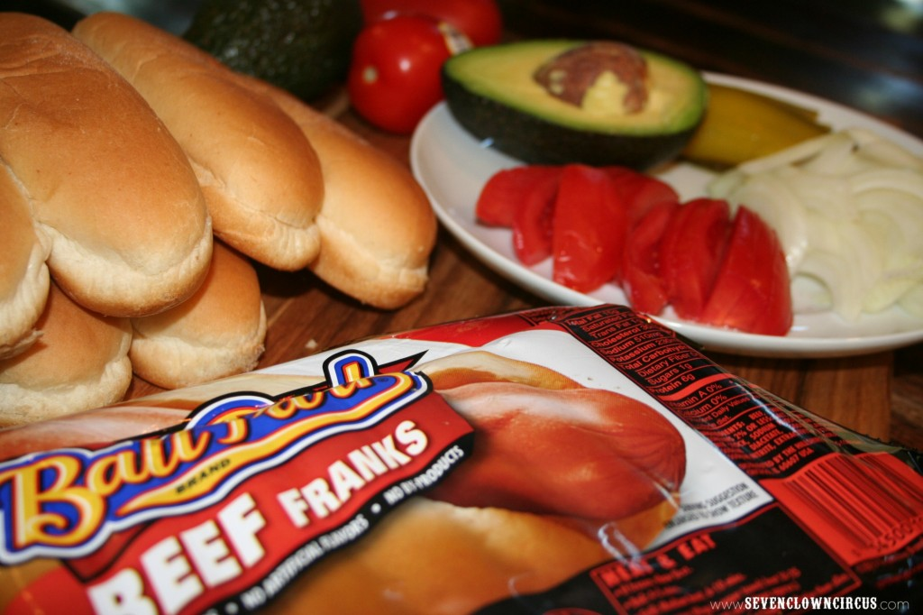 Hillshire farms hot dog