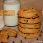 SOFT Pumpkin Chocolate Chip Cookies {recipe}