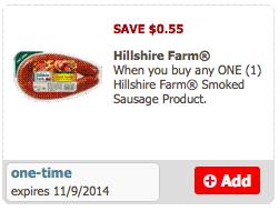 hillshire farms coupon
