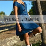How to Wear Silver Cowboy Boots