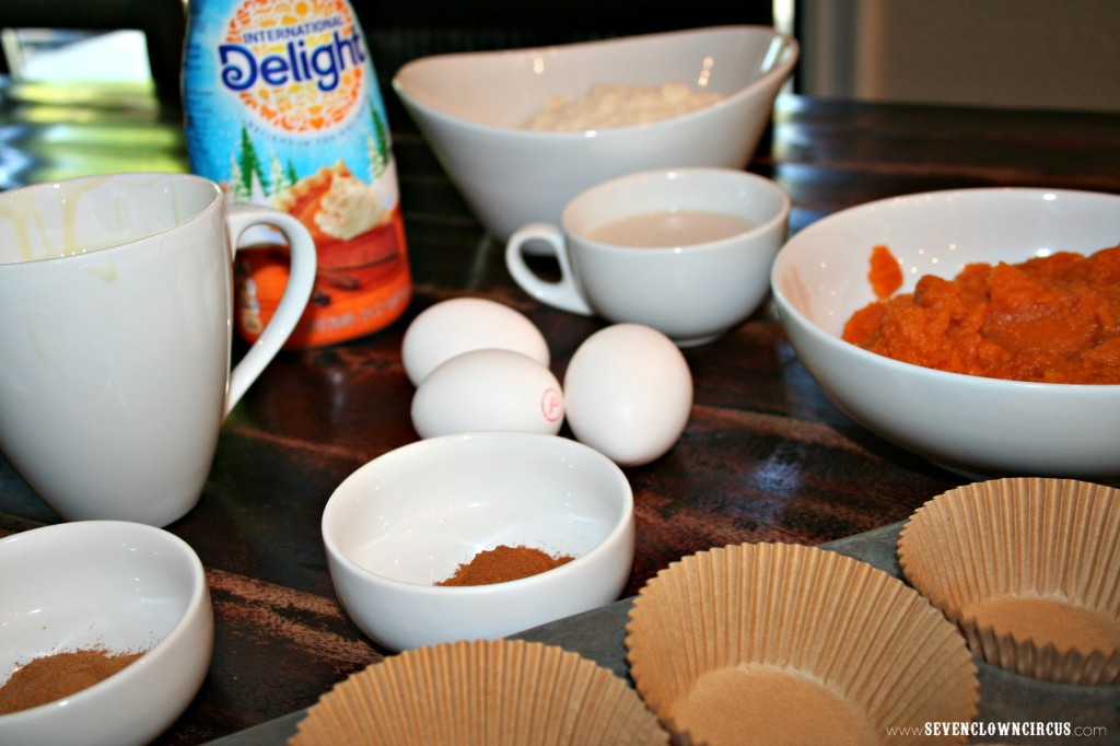 tres leche pumpkin cupcake ingredients
