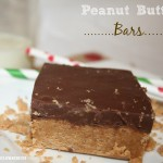 Peanut Butter Bars & Graham Cracker Houses {how to}