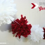 DIY Pom Pom Garland {Valentine Craft}