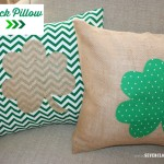 Shamrock Pillow {tutorial}