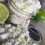 Coconut Lime Sugar Scrub {homemade gift idea}