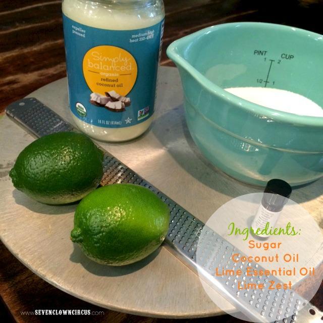 coconut sugar scrub ingredient list