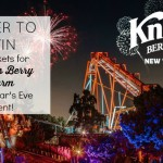 Ring in the New Year at Knott's Berry Farm!  {TICKET GIVEAWAY}